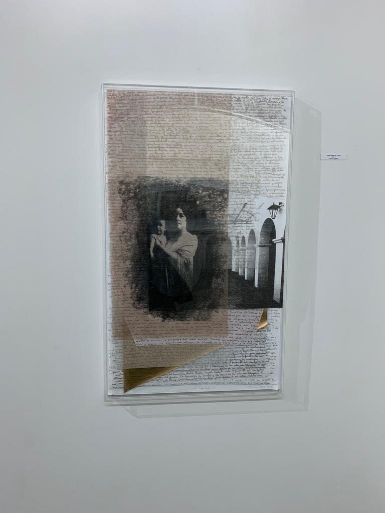 LUCIA TORRES «VIDA» 3 - Litografía 100x60x4cm - Año 2018 «X° Salón Anual Nacional Bicentenerio del Grabado», en el Museo Municipal de Artes Visuales de Urquiza, Concordia