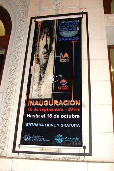 «VII Salón Anual Nacional del Bicentenerio del Grabado» Concordia, Año 2016