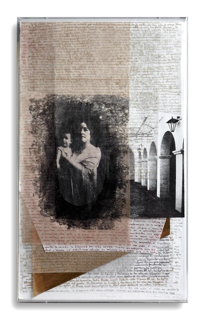 LUCIA TORRES «VIDA» 3 - Litografía 100x60x4cm - Año 2018