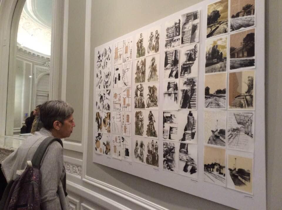 LUCIA TORRES en «Mujeres que imprimen» en la Embajada de la República Argentina - Washington