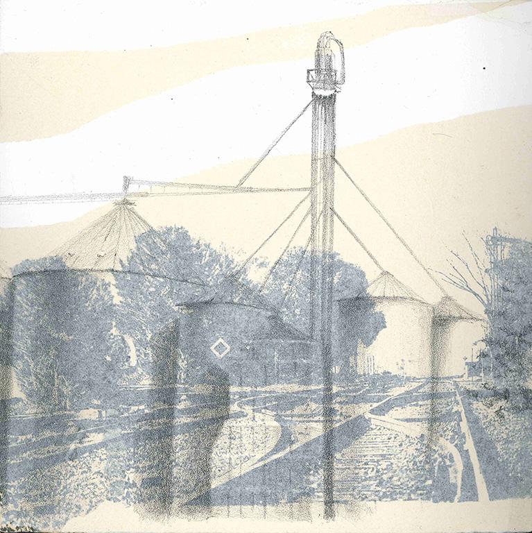 LUCIA TORRES - Serie «VIDA» 8 - Litografía 28x28cm - Año 2019