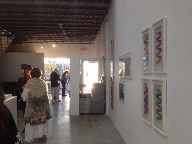 «LATINAMERICAN WOMEN PRINTING» en Art and Design Gallery, Miami, 2017