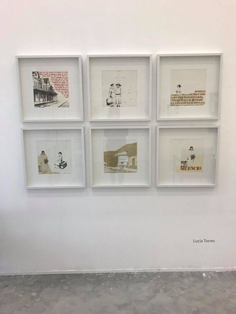 LUCIA TORRES «MIGRANTE» en «LATINAMERICAN WOMEN PRINTING» en Art and Design Gallery, Miami, 2017