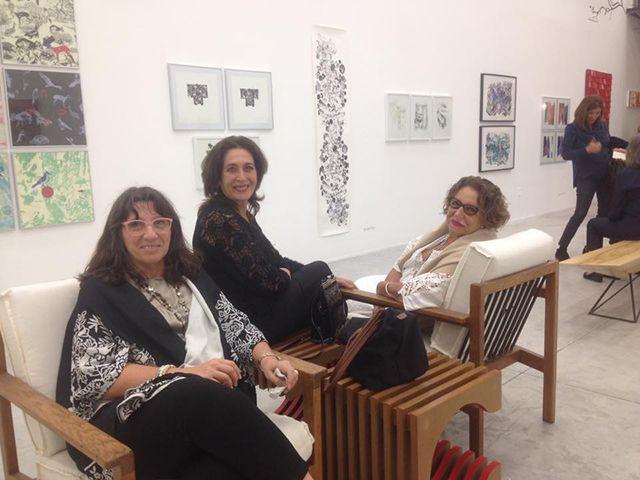 «LATINAMERICAN WOMEN PRINTING» en Art and Design Gallery, Miami, 2016