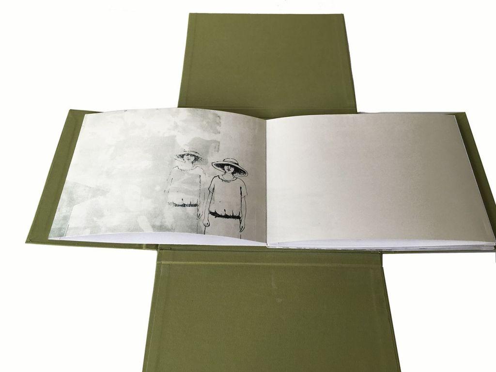 LUCIA TORRES «Resiliencia» – Libro de Artista – Litografía, Xilografía, Impresión Digital – Ejemplar Único – 22x17,5x2cm – Año 2018
