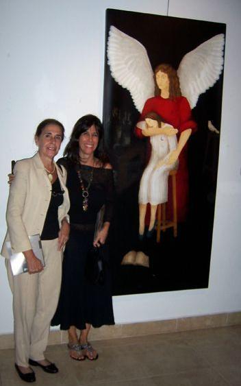 LUCIA TORRES «XXXVIII Salón de Arte Sacro de Tandil» PRIMER PREMIO con «El Ángel del Artista» Año 2010