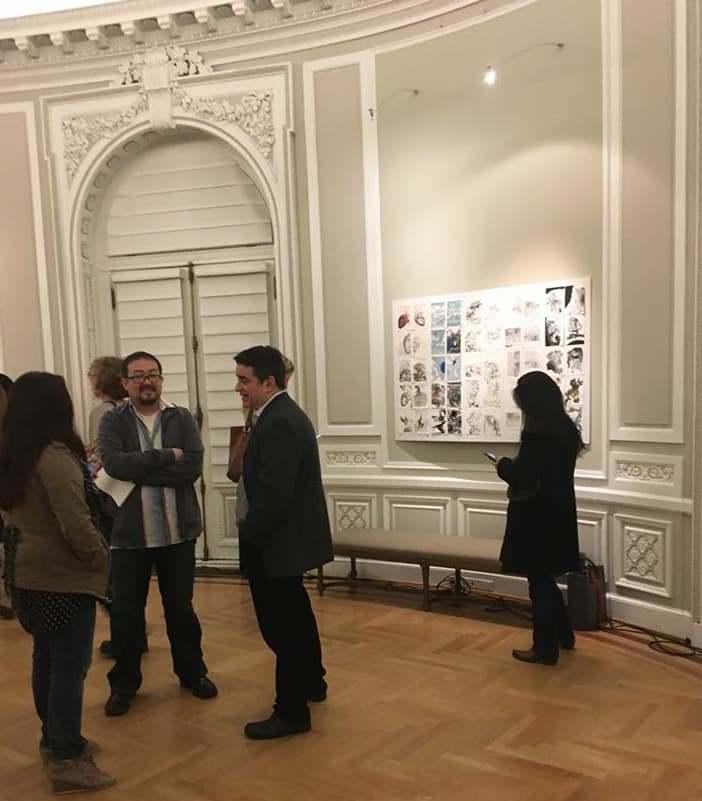 «Mujeres que imprimen» en la Embajada de la República Argentina, en Washington, Estados Unidos, 2017