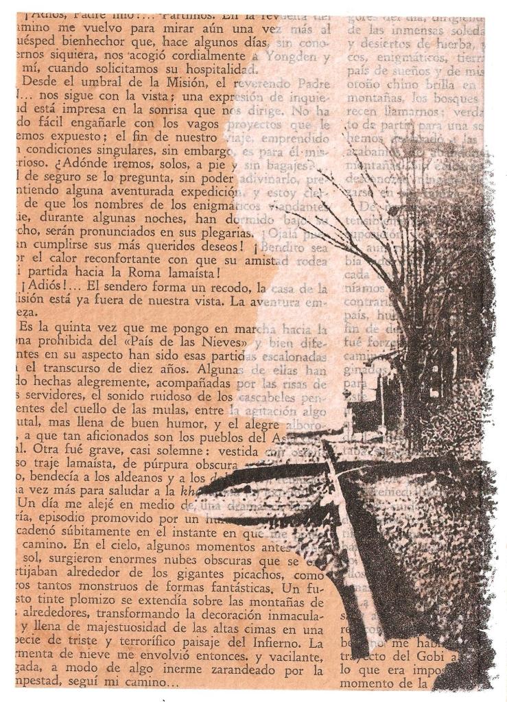 LUCIA TORRES - Instantes en la «VIDA» 14 – Litografía 18x13cm – Año 2018
