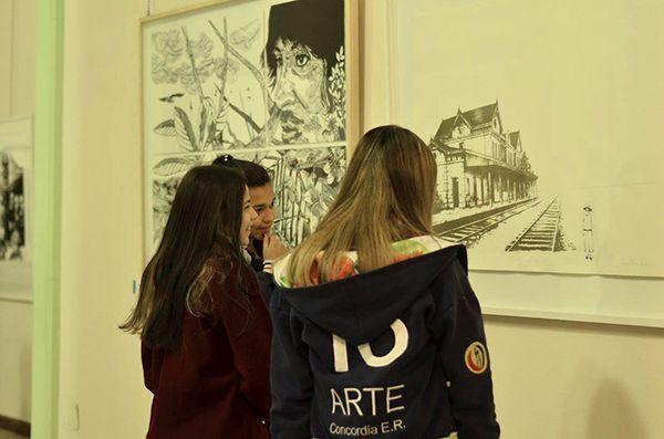 LUCIA TORRES «VII Salón Anual Nacional del Bicentenerio del Grabado» MENCIÓN EN GRABADO - Concordia, Año 2016
