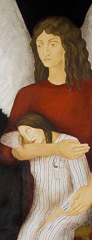 LUCIA TORRES «ARTE SACRO» con «El Angel del Artista» Detalle