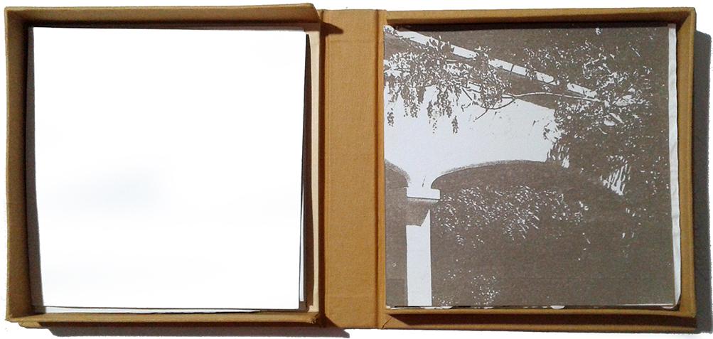LUCIA TORRES «HERMANDAD» - Libro de Artista - Edición Única - Litografía, Xylografía, Gofrado, Troquelado - Papel Archés y Papel de Seda - Año 2015