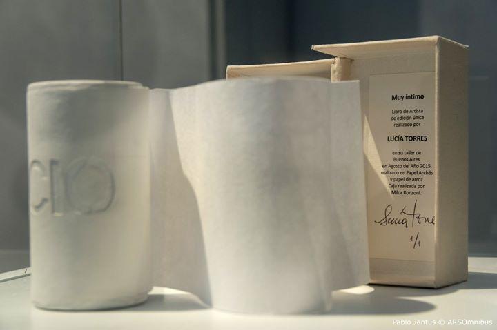 LUCIA TORRES con «Serie VIDA» en «Otras tramas entre la ruta de tus pasos NATURALEZA Y URBANISMO» del «GRUPO 5» Erman-Leiva-Torres-Blasbalg, en el Museo Banco Provincia de Buenos Aires