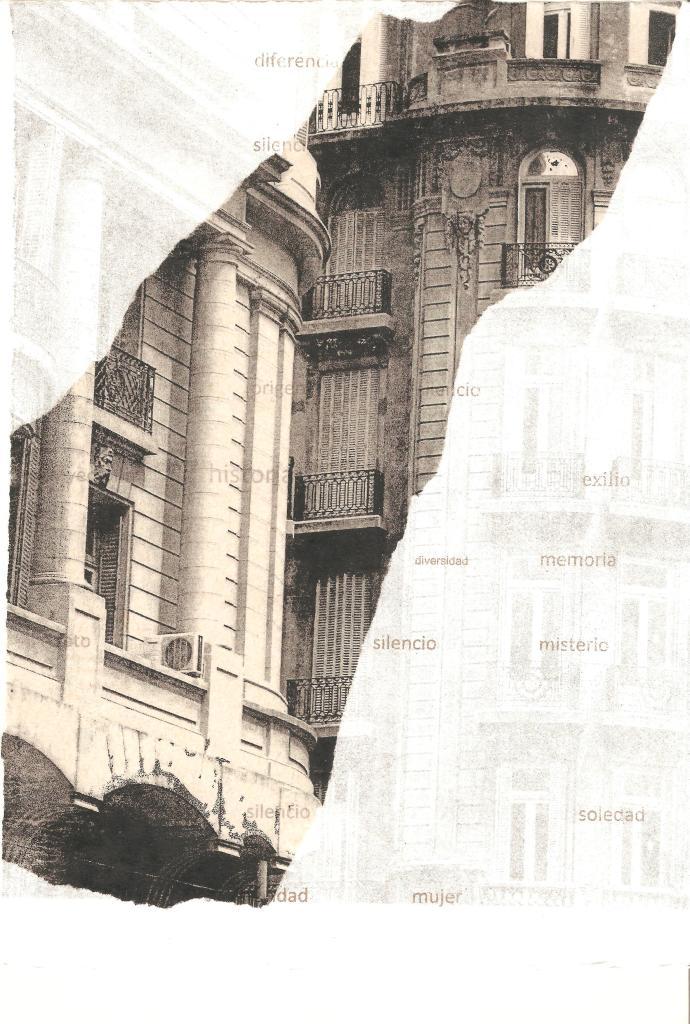 LUCIA TORRES «Migrante» 2 - Litografía Polyester 30x20cm - Año 2013