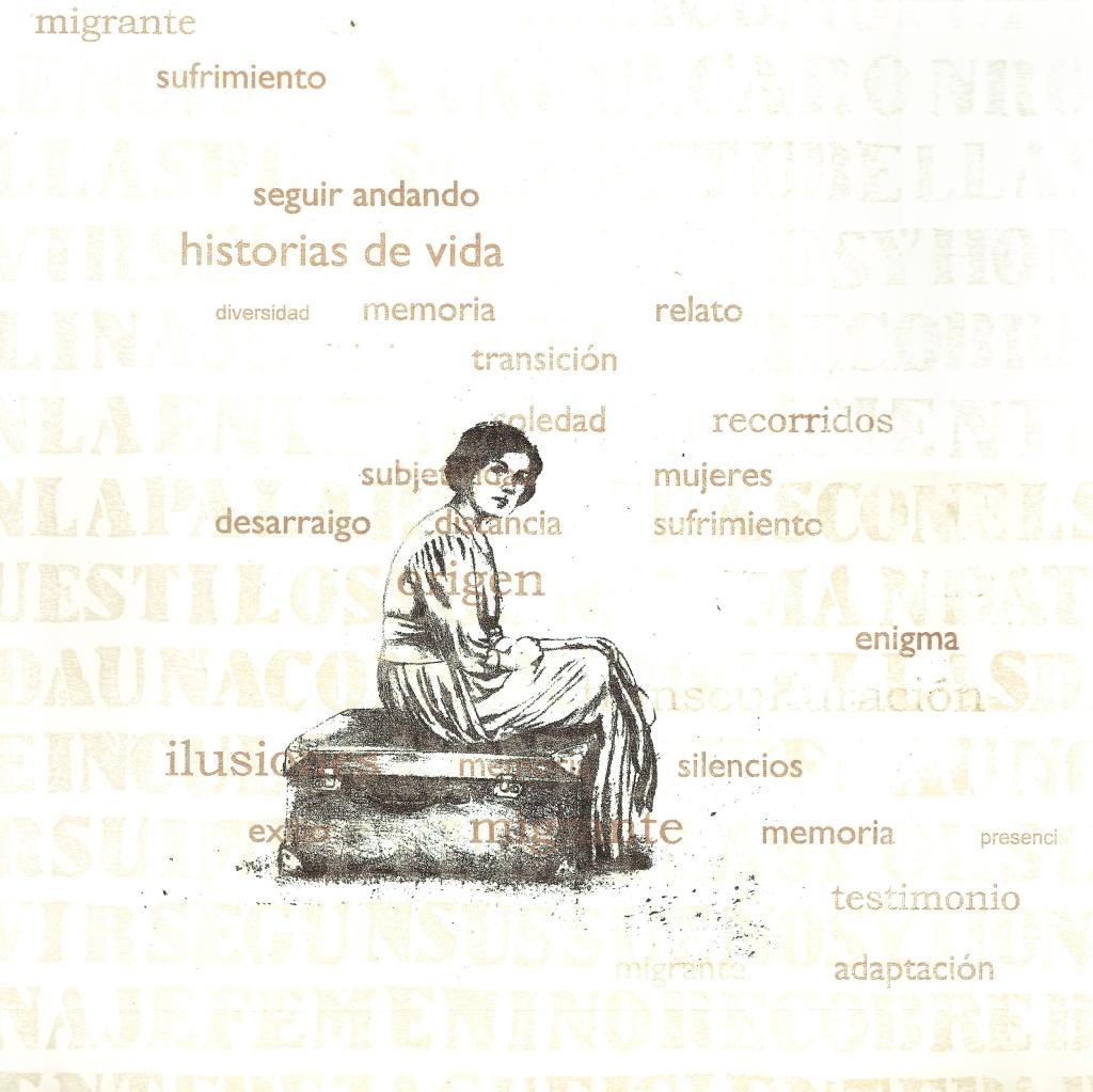 LUCIA TORRES «Migrante» 9 - Litografía en Poliester 30x30cm - Año 2013