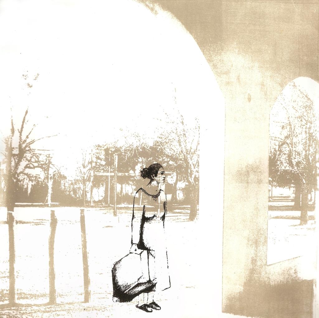 LUCIA TORRES «Migrante» 10 - Litografía en Poliester print 30x30cm - Año 2013