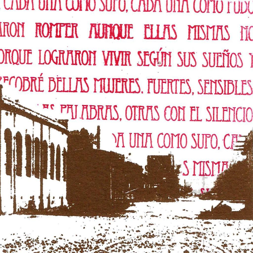 LUCIA TORRES «MIGRANTE» 136 - Litopoliester 10x10cm - Año 2015