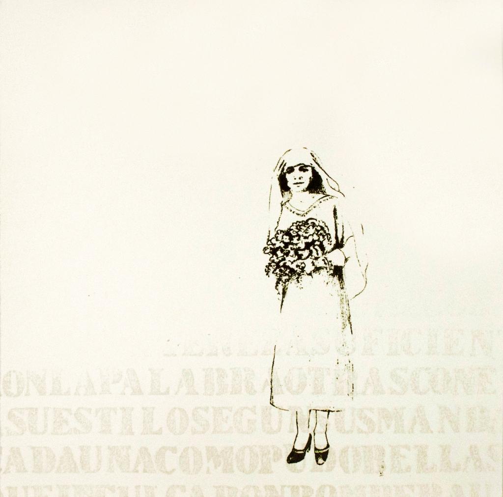 LUCIA TORRES «Migrante» 18 - Xilografía en Poliester print 30x30cm - Año 2013