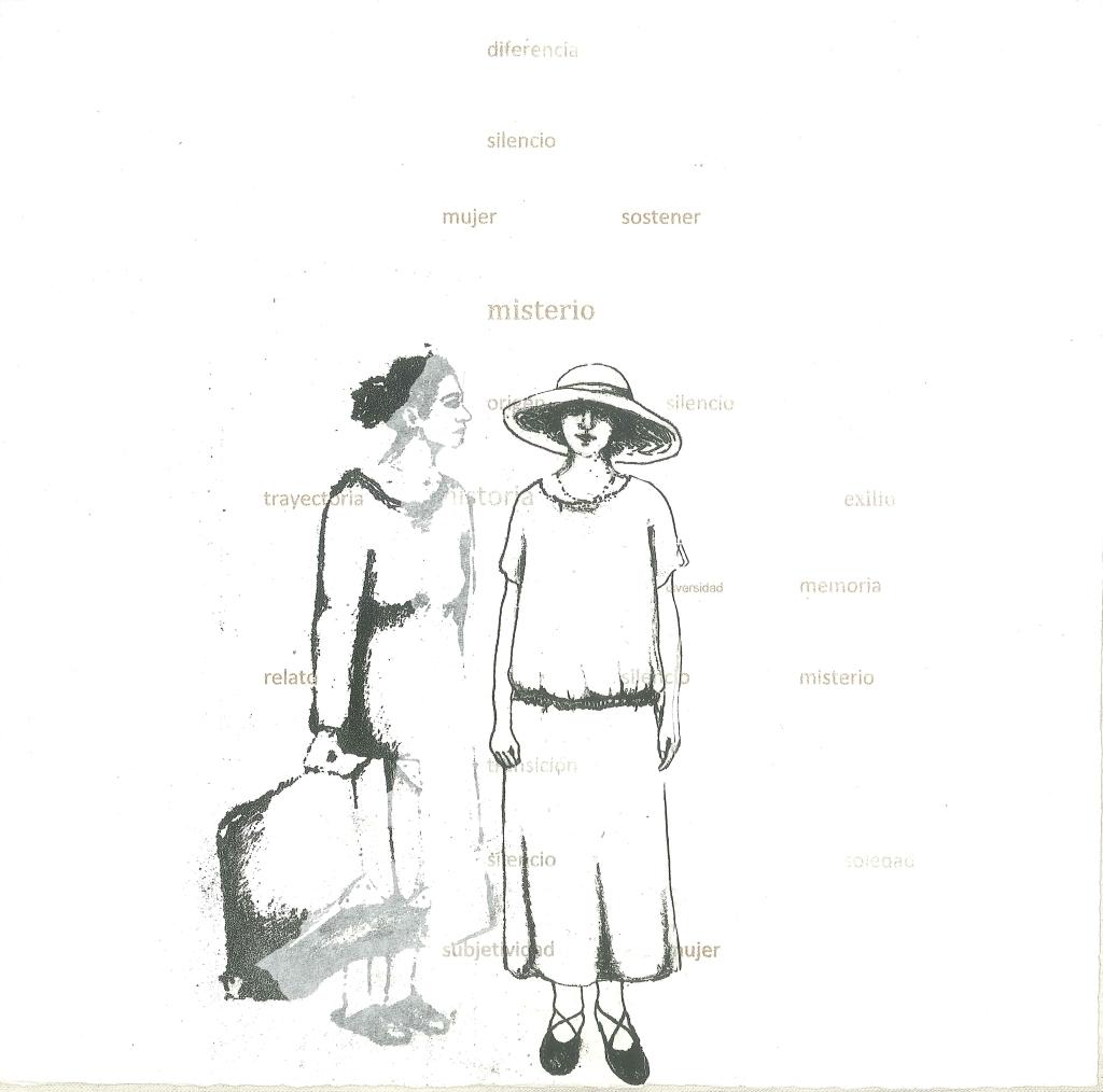 LUCIA TORRES «Migrante» 21 - Litografía en Poliester 30x30cm - Año 2013