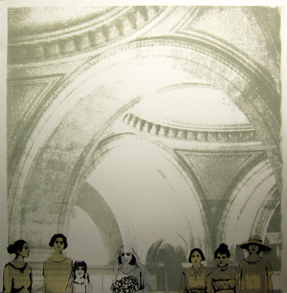 LUCIA TORRES «Migrante» 24 - Litografía, Poliester print 30x30cm - Año 2013