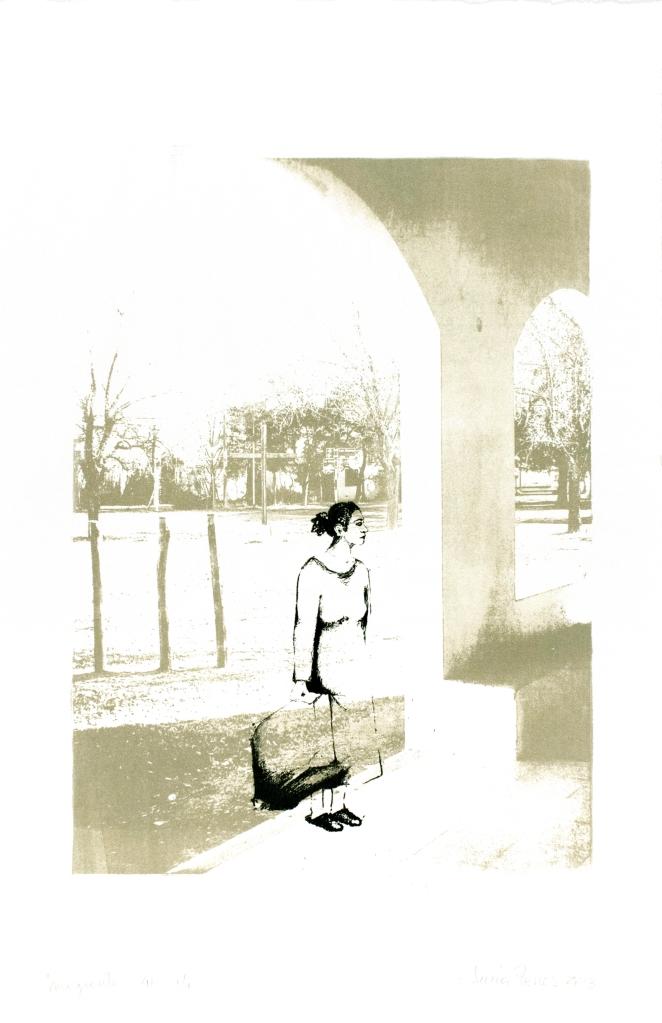 LUCIA TORRES «Migrante» 41 - Litografía 56x38cm - Año 2013