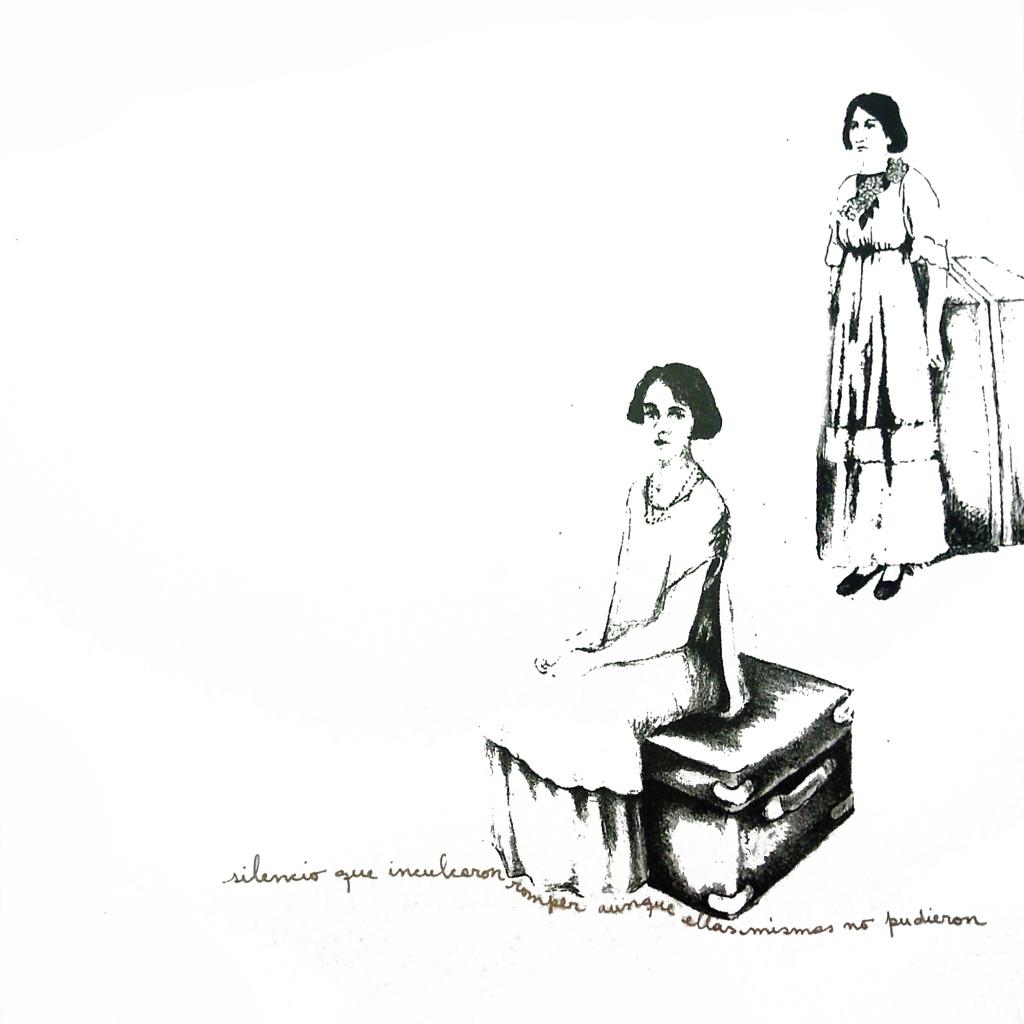 LUCIA TORRES «Migrante» 43 - Litografía 30x30cm - Año 2013