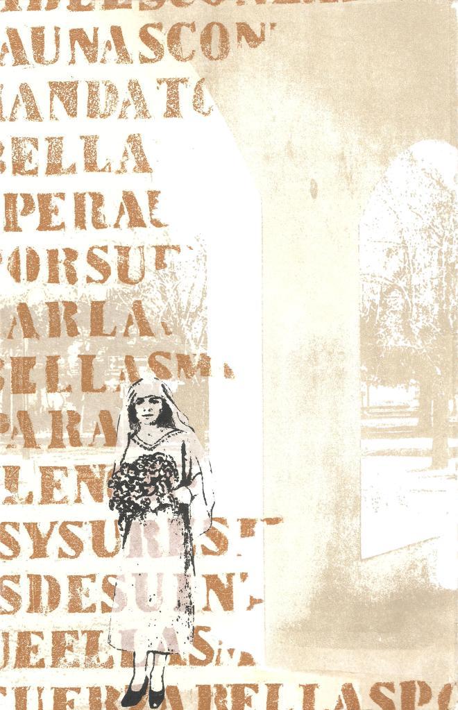 LUCIA TORRES «Migrante» 47 - Litografía, Xilografía 30x20cm - Año 2013