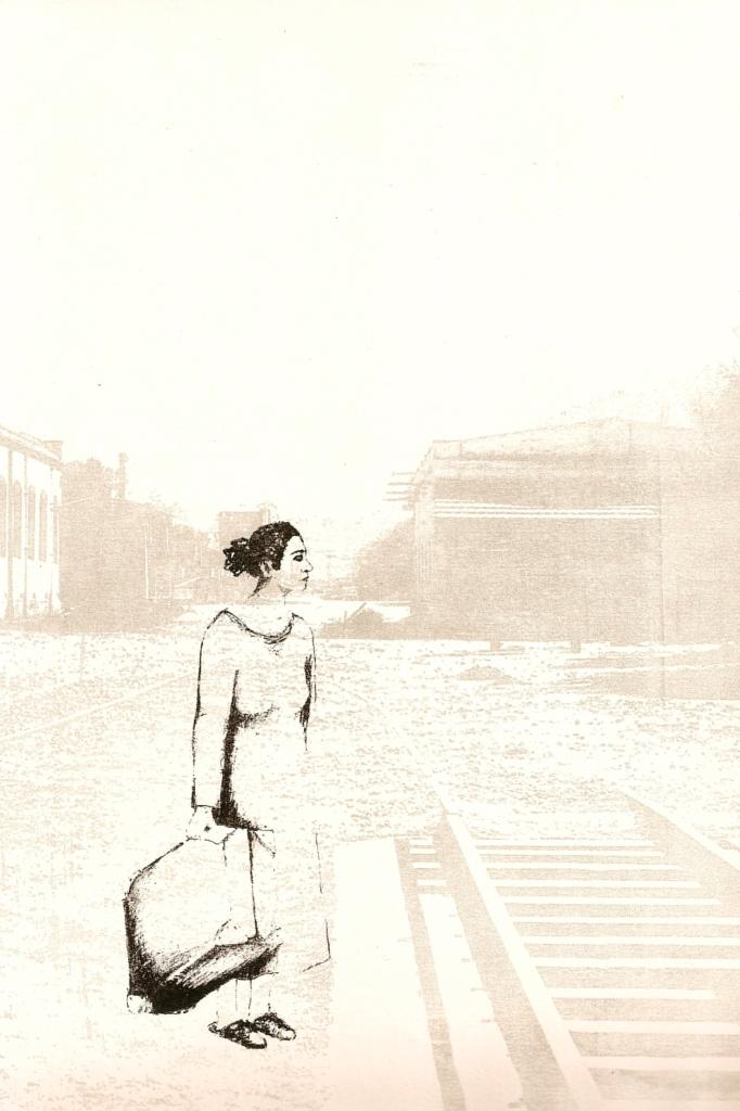 LUCIA TORRES «Migrante» 49 - Litografía en Poliester 30x20cm - Año 2013