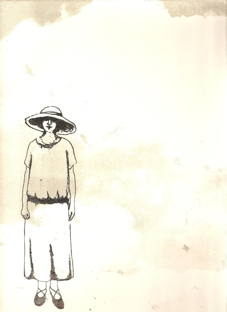 LUCIA TORRES «Migrante» 51 - Litografía 30x19cm - Año 2013