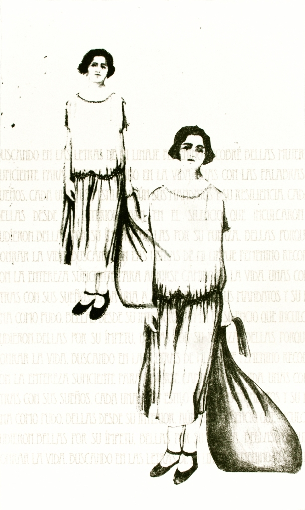 LUCIA TORRES «Migrante» 52 - Litografía 27x16cm - Año 2013