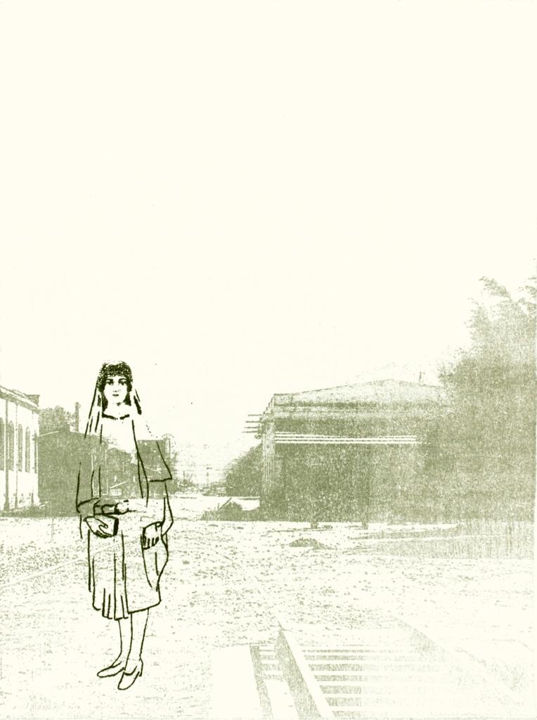 LUCIA TORRES «Migrante» 56 - Litografía en Poliester 30x22cm - Año 2013