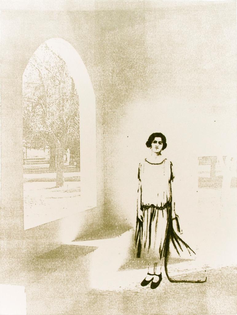 LUCIA TORRES «Migrante» 58 - Litografía 30x23cm - Año 2013