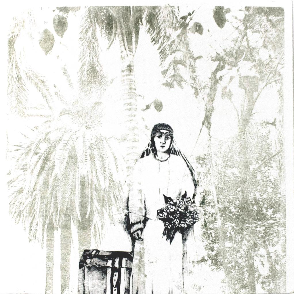 LUCIA TORRES «Migrante» 63 - Litografía 30x30cm - Año 2013