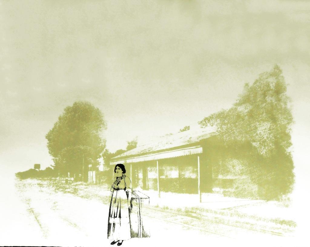 LUCIA TORRES «MIGRANTE» 73 - Litografía 56x76cm - Año 2014