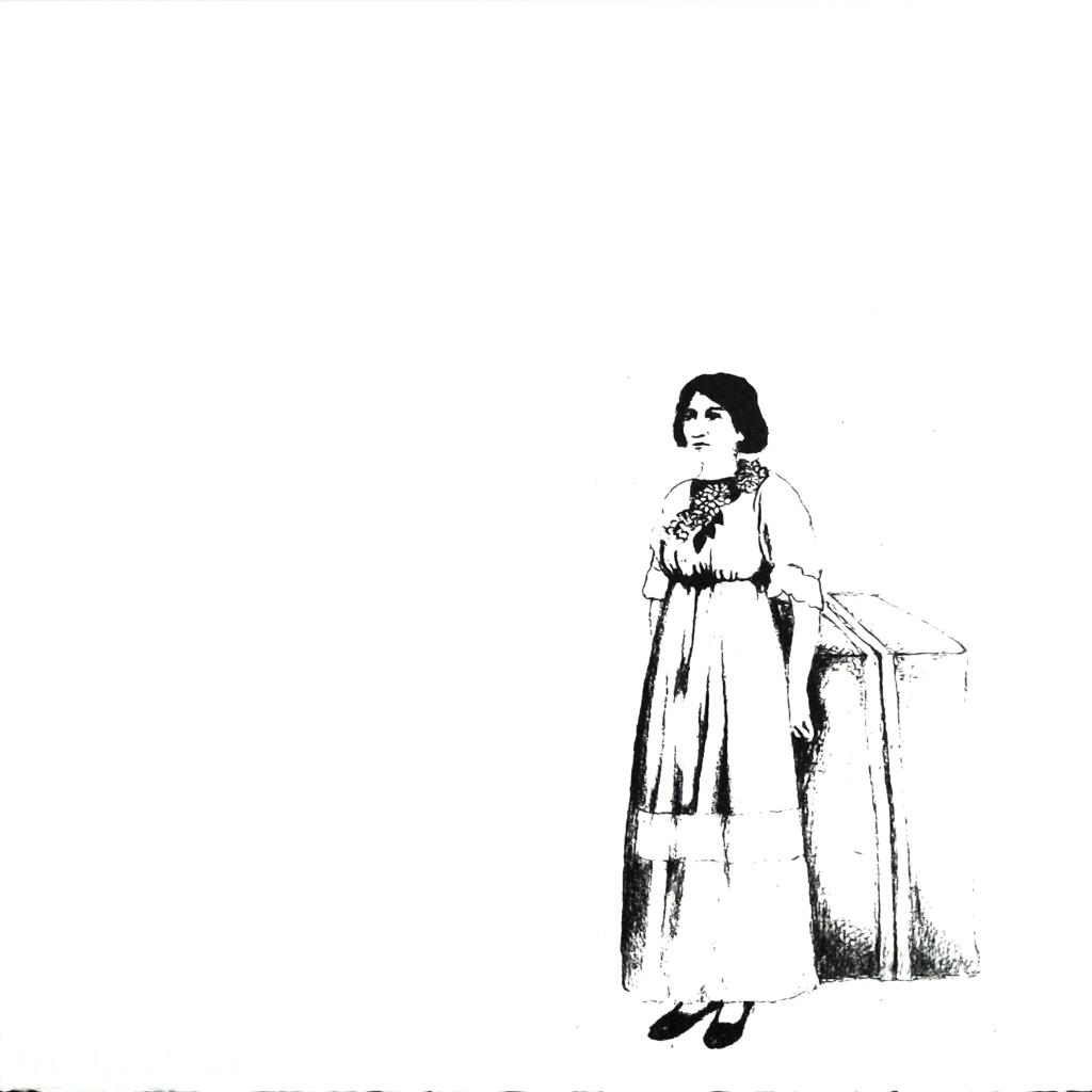 LUCIA TORRES «MIGRANTE» 83 - Litografía 30x30cm - Año 2014