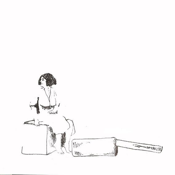 LUCIA TORRES «MIGRANTE» 84 - Litografía en Poliester 30x30cm - Año 2014