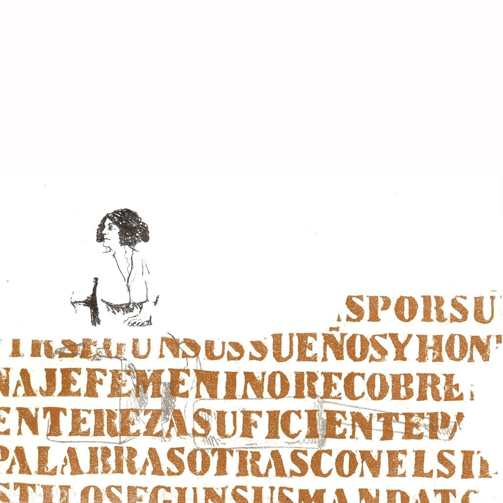 LUCIA TORRES «MIGRANTE» 88-1-3 - Litografía, Xilografía 30x30cm - Año 2014