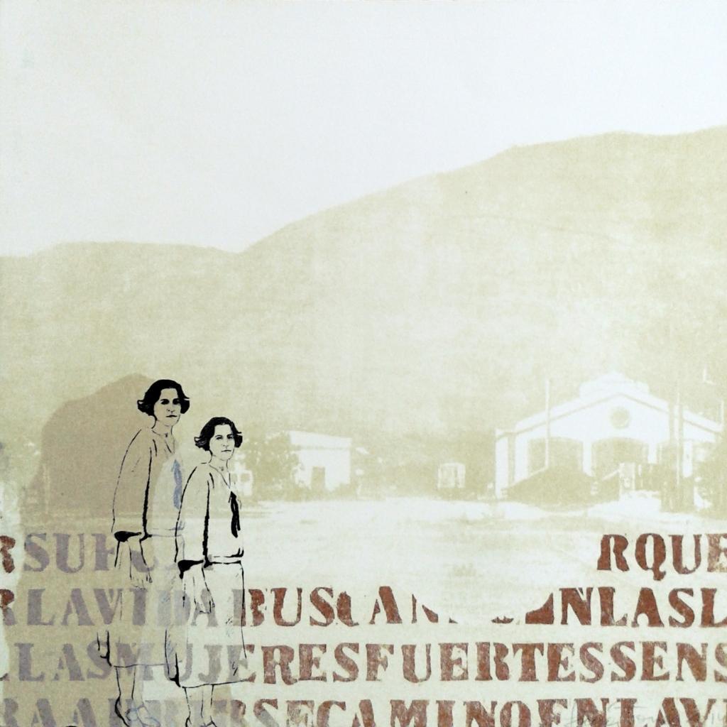 LUCIA TORRES «MIGRANTE» 90-1 - Litografía, Xilografía 30x30cm - Año 2014