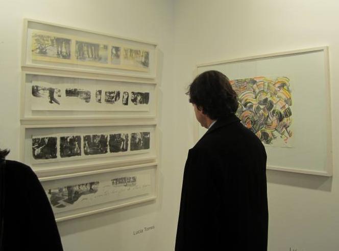 LUCIA TORRES «TERRITORIO» en «Ch.ACO'11 Feria de Arte Contemporáneo - Centro Cultural Estación Mapocho» Santiago de Chile, 2011