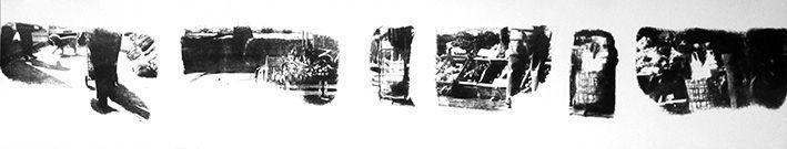 LUCIA TORRES «TERRITORIO» XXXIX - Alugrafía 19x100cm - Año 2011