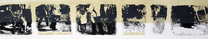 LUCIA TORRES «TERRITORIO» XXXVIII - Alugrafía 19x100cm - Año 2011