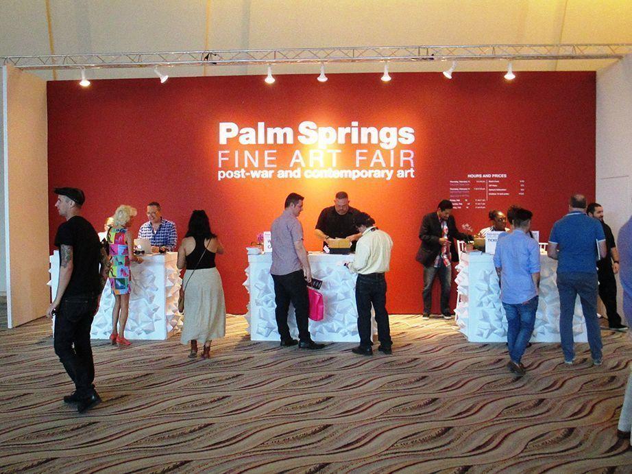 «Palm Springs Fine Art Fair» Palm Springs, California, 2016