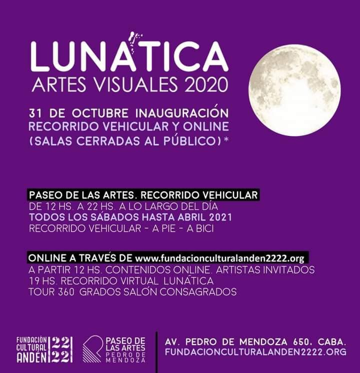 «LUNÁTICA» Artes Visuales 2020, Buenos Aires