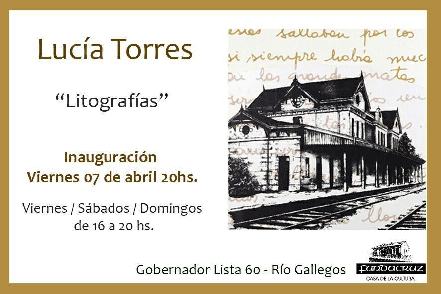 LUCIA TORRES «LITOGRAFÍAS» en Fundacruz, Año 2017