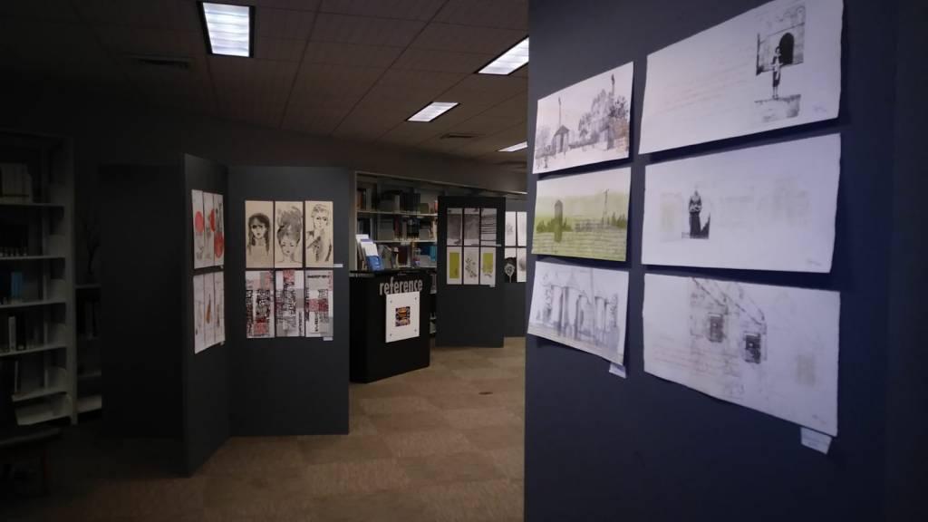 LUCIA TORRES «Serie VIDA» en «STORIES PRINTED / HISTORIAS GRÁFICAS» Centro de Edición, en North Miami Public Library