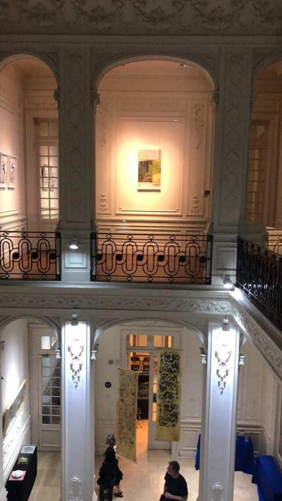 «LUCIA TORRES» con «VIDA», en «ENTRE PAPELES» Constelaciongráfica, ICANA White Hall, CABA