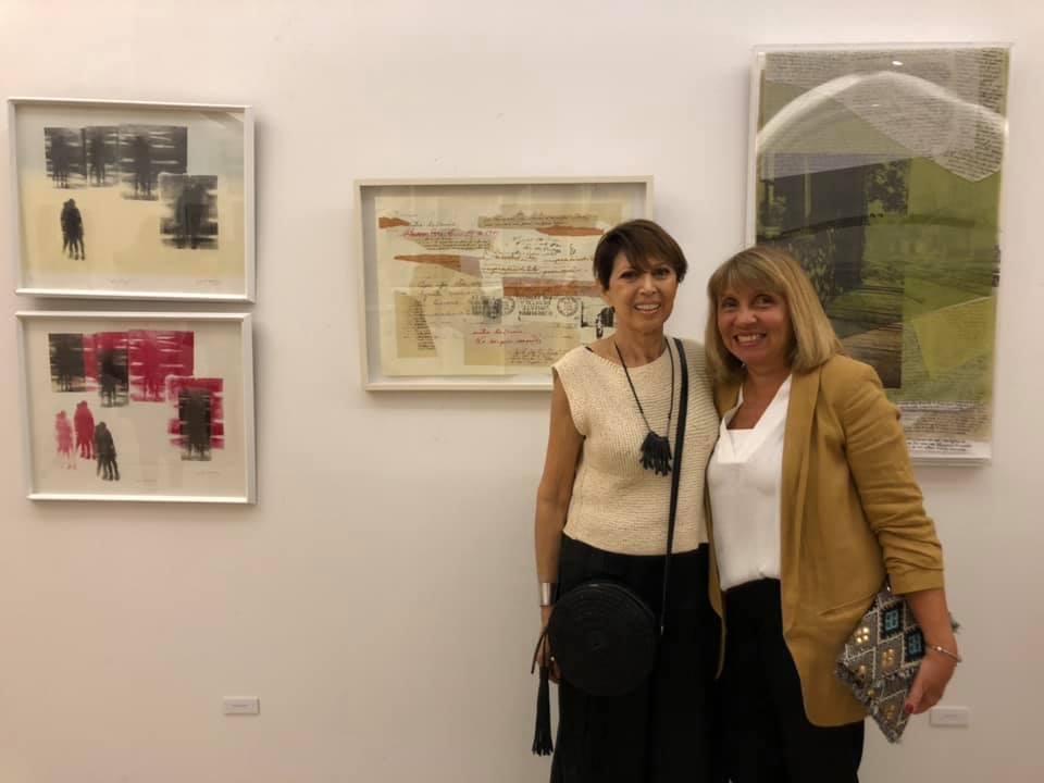 LUCIA TORRES «LITOGRAFÍA ARGENTINA CDE 2019» Centro de Edición, Central Newbery Galería de Arte - Año 2019