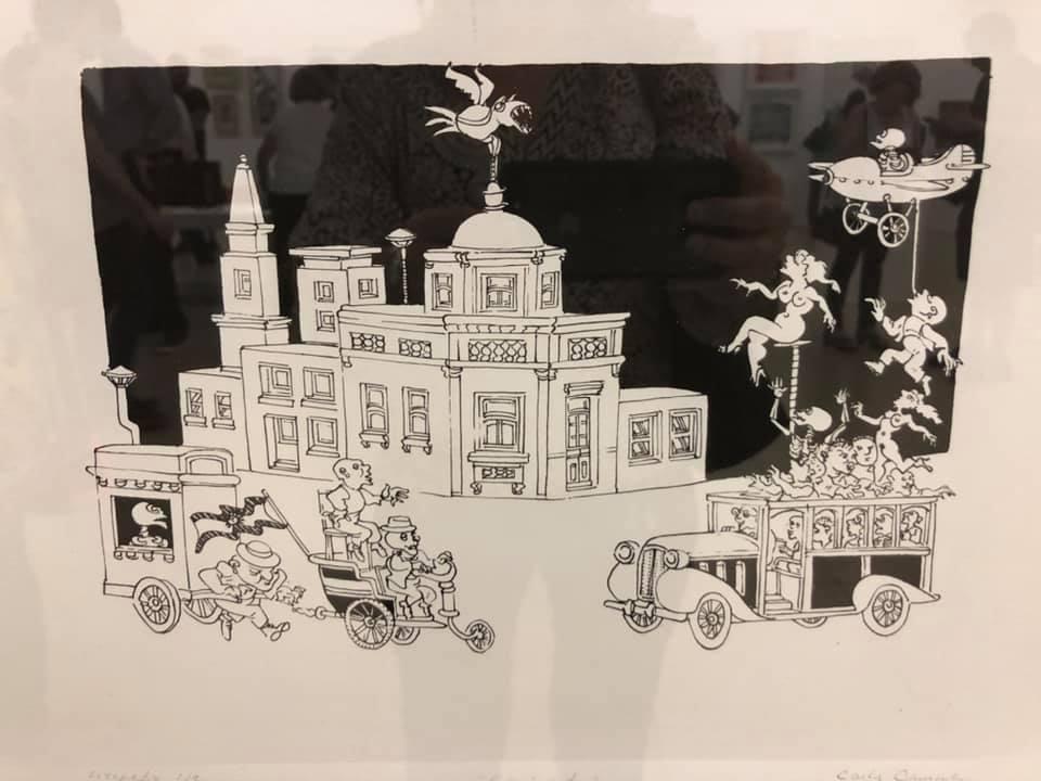 «LITOGRAFÍA ARGENTINA CDE 2019» Centro de Edición, Central Newbery Galería de Arte - Año 2019