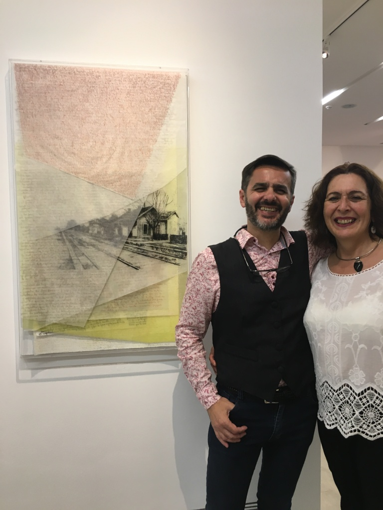 LUCIA TORRES «VIDA 1» Litografía - 100x60x4cm - Año 2018 «63° Salón de Artes Plásticas Manuel Belgrano 2018», Museo Sívori, CABA