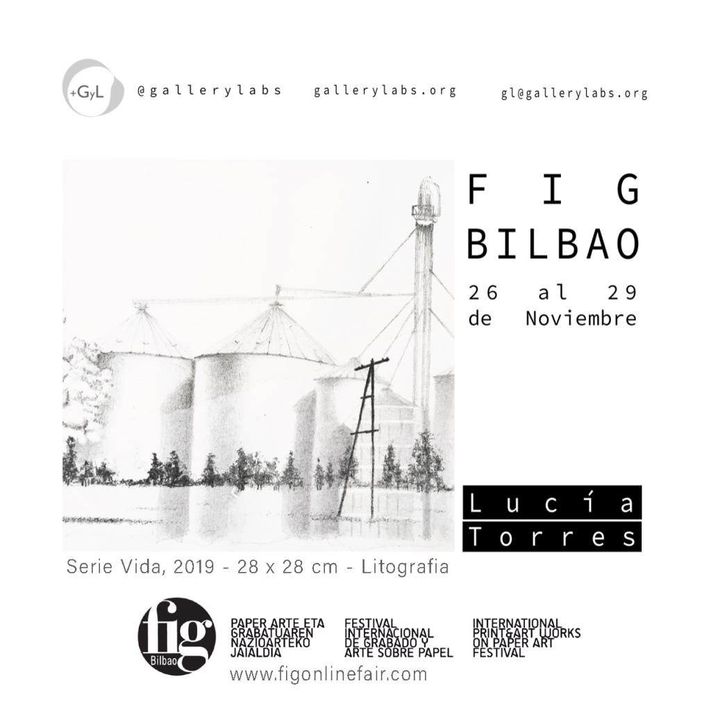 LUCIA TORRES «FIG BILBAO 2020» Festival Internacional de Grabado y Arte sobre Papel, GalleryLabs, Bilbao - España