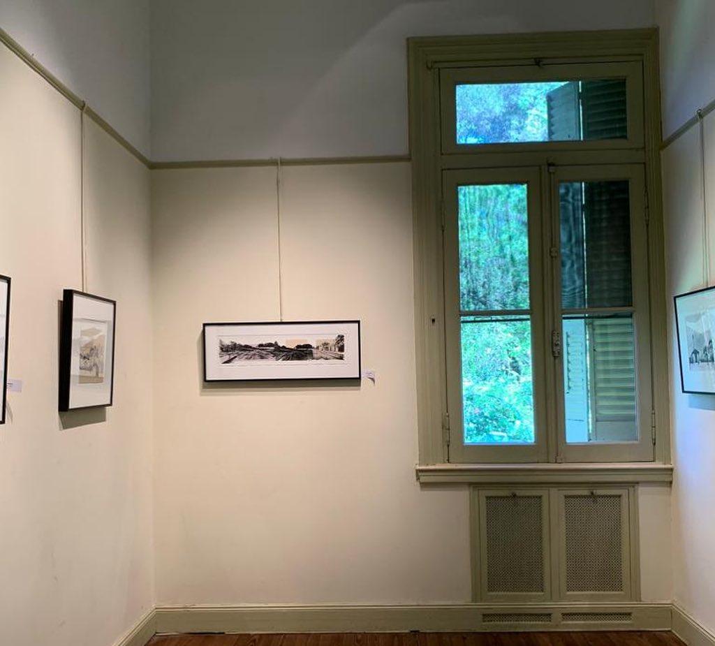 LUCIA TORRES «Serie VIDA» en «PAPEL Arte Gráfico Contemporáneo III», Museo Rómulo Raggio. Vicente López, Buenos Aires